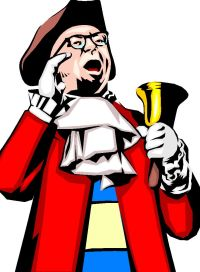 Click on the town crier for the 2014 events!